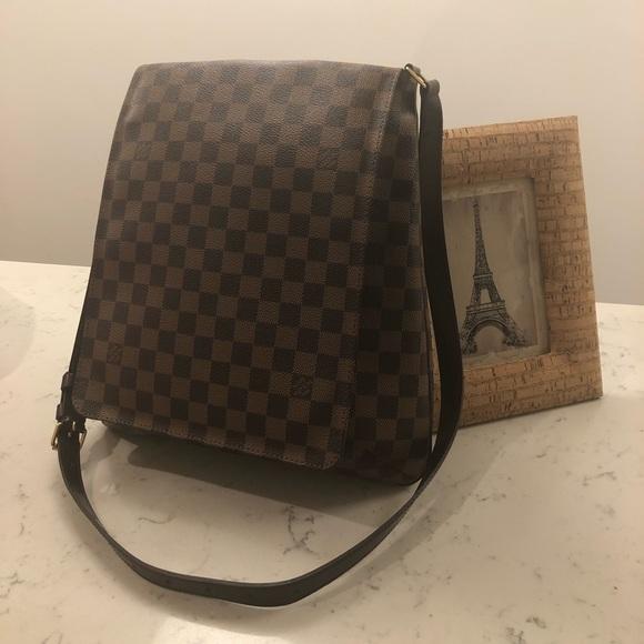 Louis Vuitton Handbags - Authentic Used Louis Vuitton Musette Salsa Damier